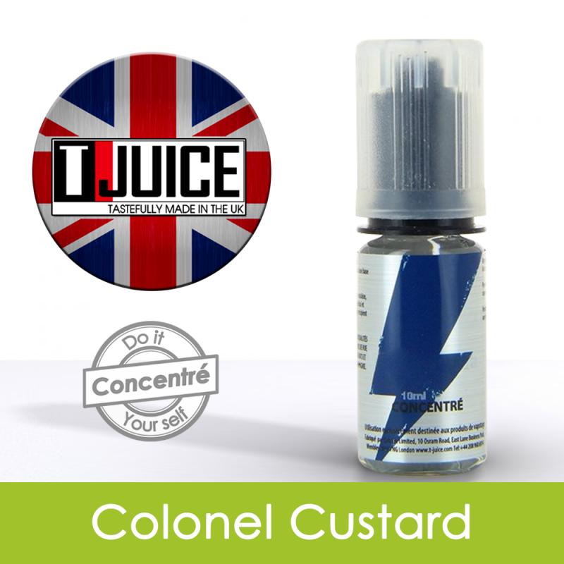 Eliquide Concentré Colonel Custard - Tjuice
