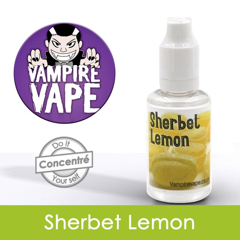 Eliquide Concentré Sherbert Lemon - Vampire Vap