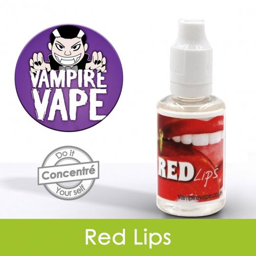 Eliquide Concentré Red Lips - Vampire Vap