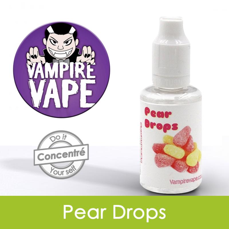 Eliquide Concentré Pear Drops Vampire Vap