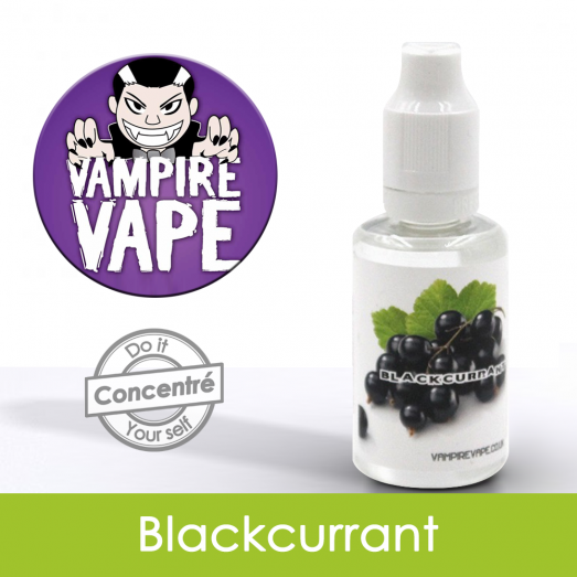 Eliquide Concentré Black Currant - Vampire Vap