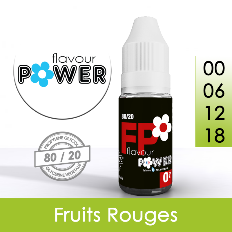 Eliquide Fruits Rouges - Flavour Power