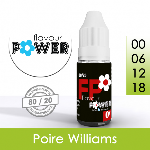 Eliquide Poire Williams - Flavour Power