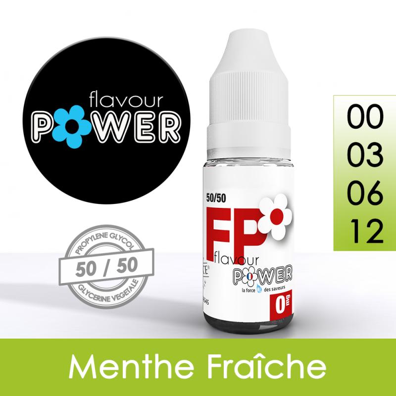 Eliquide Menthe Fraîche - Flavour Power