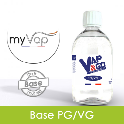 Pack DIY 205ml 6mg VAPnGO
