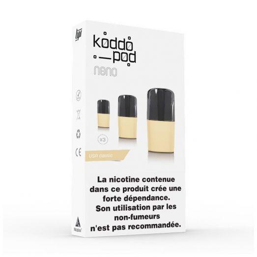 Cigarette électronique Recharge Koddopod Nano - Le French Liquide