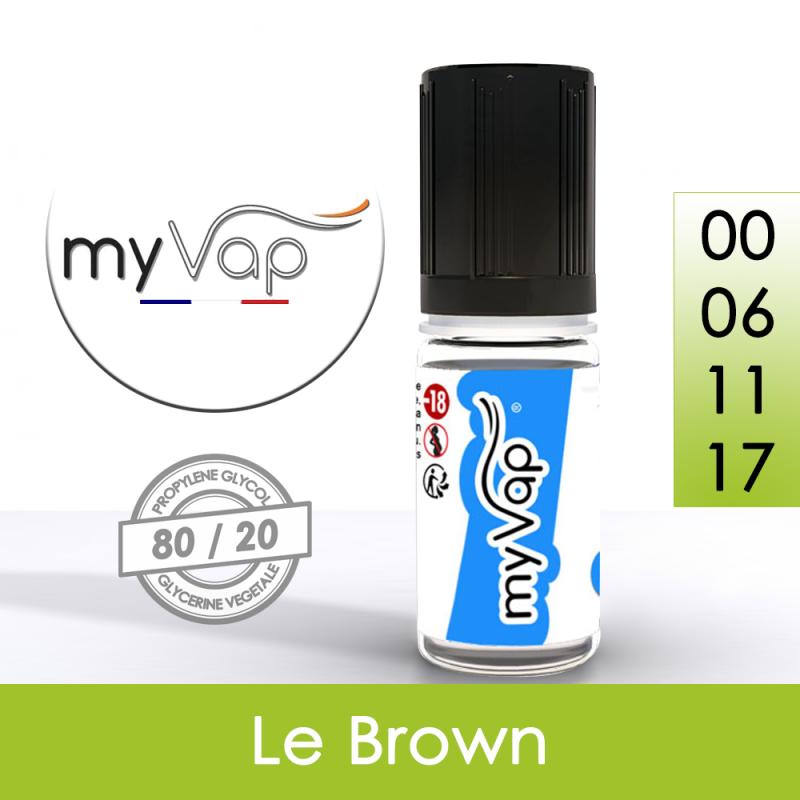 Eliquide Le Brown myVap