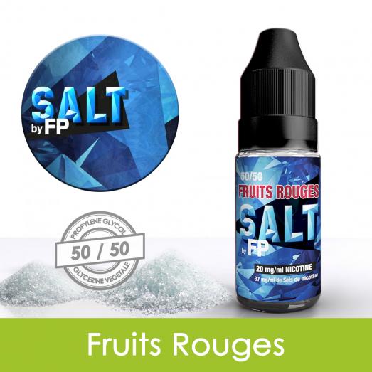 Eliquide sels de nicotine Fruits rouges Salt by FP : 5,31€