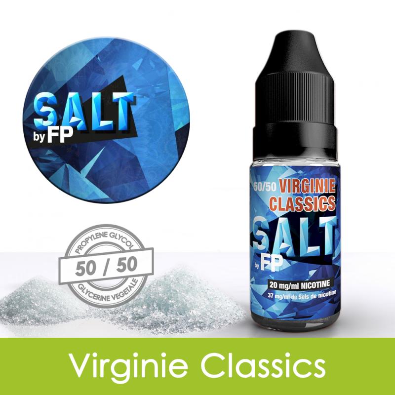 Eliquide sels de nicotine Virginie classics Salt by FP : 5,31€