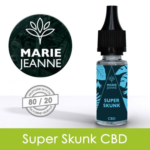 Eliquide Super Skunk CBD - Marie Jeanne