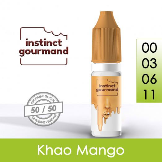 Eliquide Khao & Mango - Instinct Gourmand