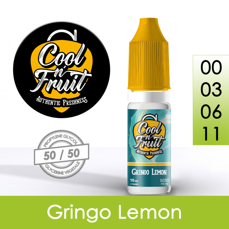 Eliquide Gringo Lemon - Cool n'Fruit