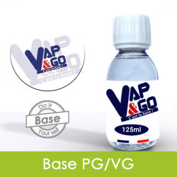 Eliquide Base PG/VG 125ml VAPnGO : 3,99 €