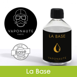 Eliquide La Base 50/50 250ml Vaponaute : 7,90€