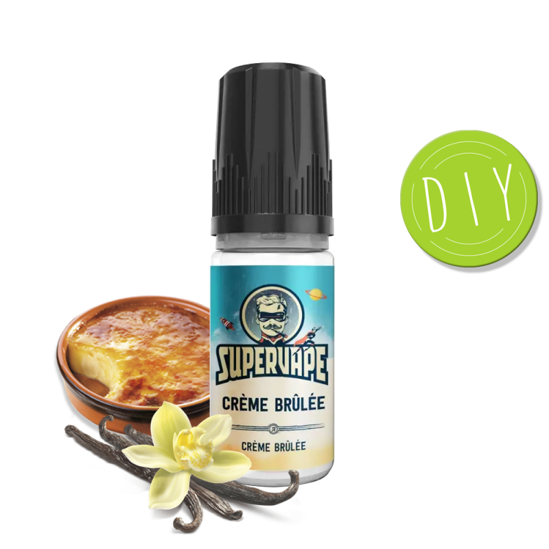 Eliquide Arôme Crème Brulée - Supervape