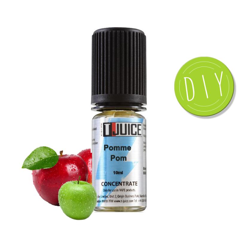 Eliquide Concentré Pomme Pom - Tjuice