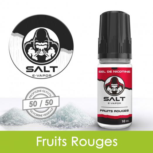 Eliquide sels de nicotine Fruits Rouges Salt E-Vapor : 6,21€