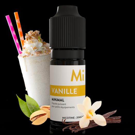 Eliquide sels de nicotine Vanille Minimal : 6,21€