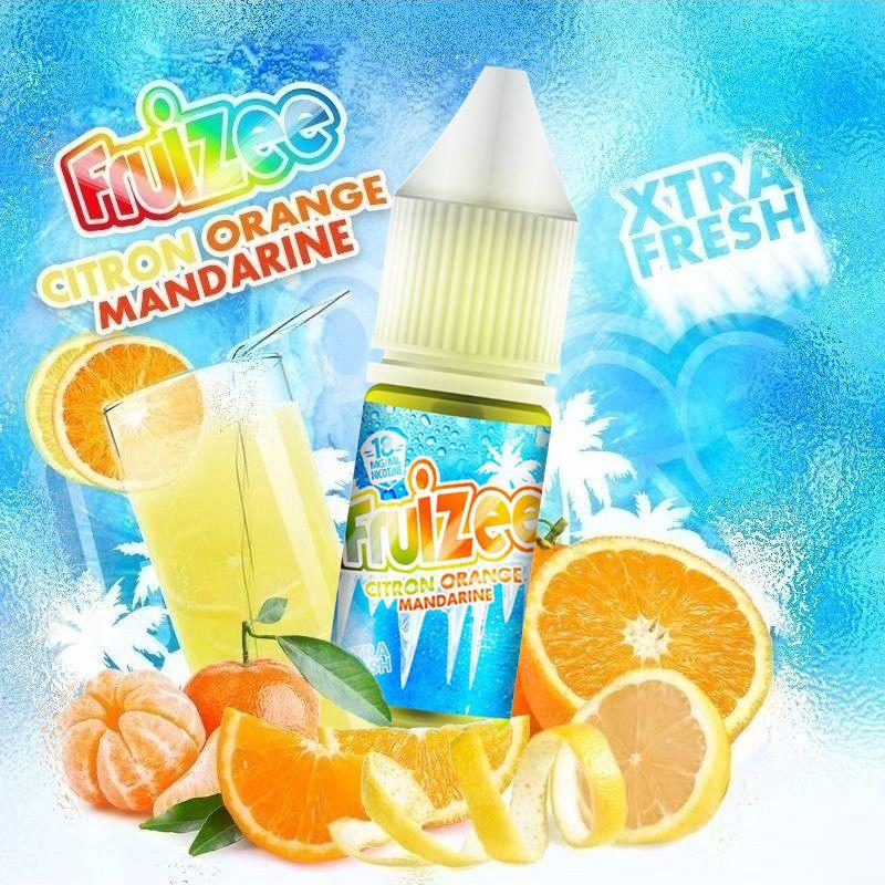 Eliquide Citron Orange Mandarine Fruizee