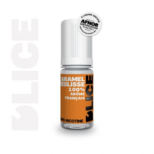 Eliquide Caramel Réglisse - DLICE