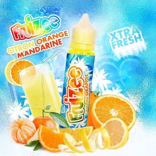 Eliquide Citron Orange Mandarine 50ml Fruizee