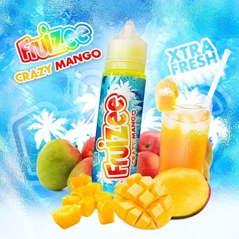Eliquide Crazy Mango 50ml Fruizee