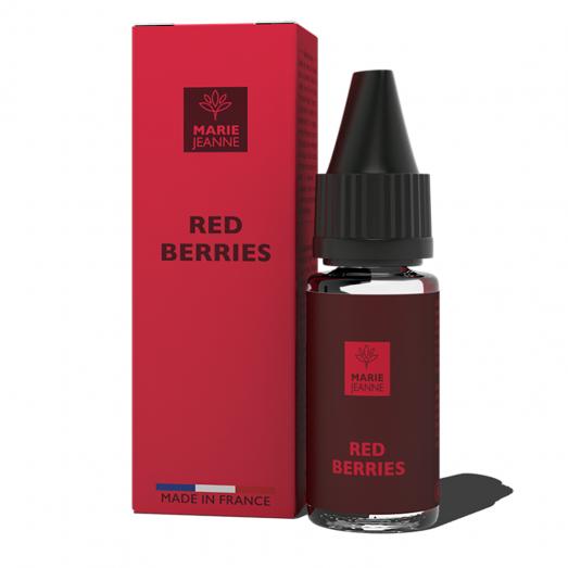 Eliquide Red Berries CBD Marie Jeanne