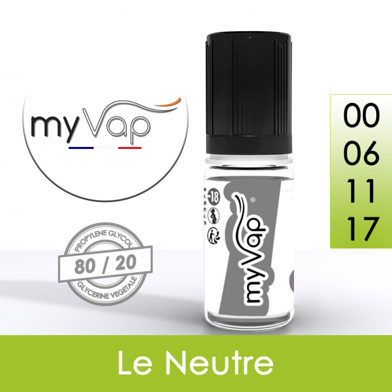 Eliquide Le Neutre 10ml 70/30 - myVap