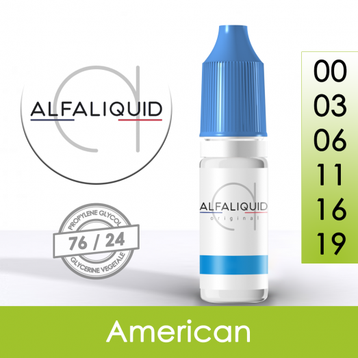 Eliquide American - Alfaliquid