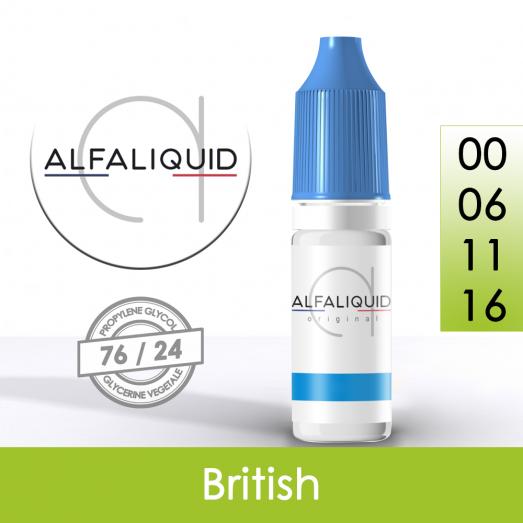 Eliquide British - Alfaliquid