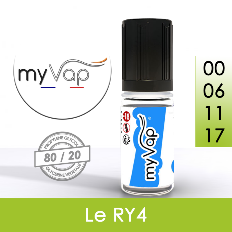 Eliquide Le RY4 myVap