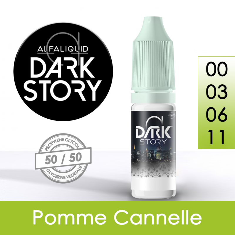Eliquide Pomme Cannelle - Dark Story