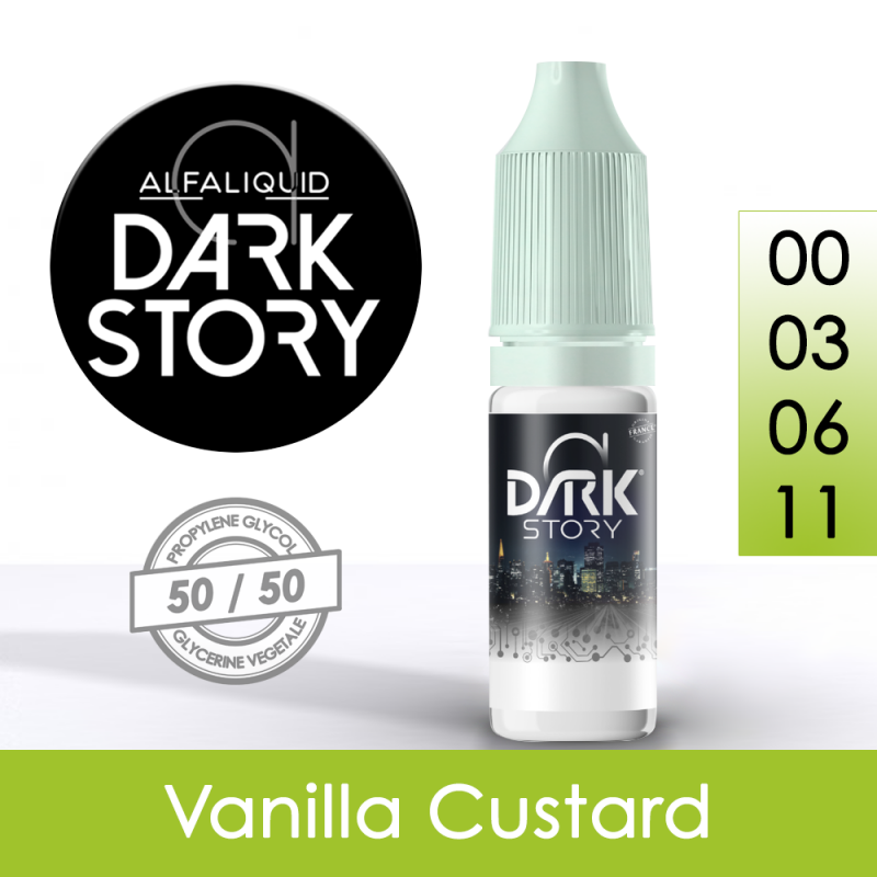 Eliquide Vanilla Custard - Dark Story