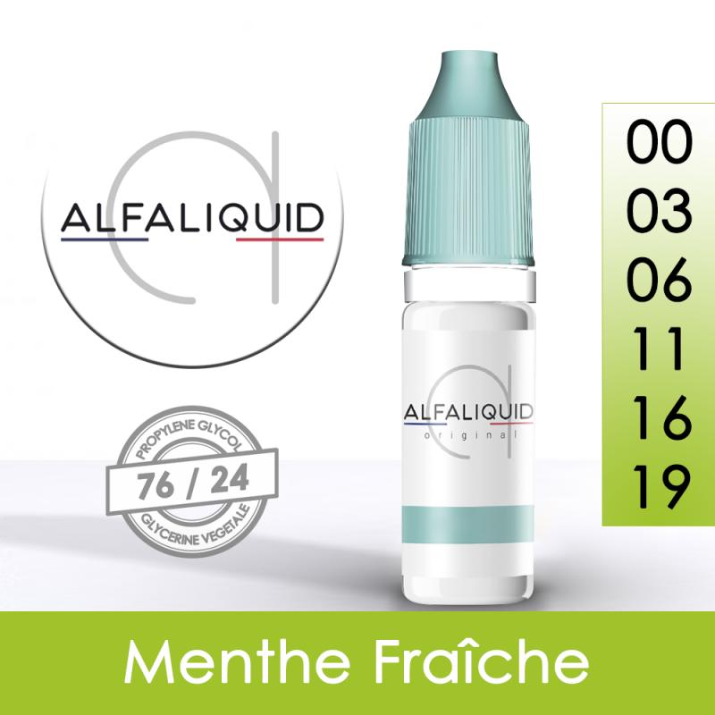 Eliquide Menthe Fraîche Alfaliquid
