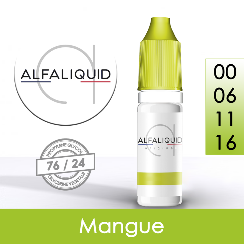 Eliquide Mangue Alfaliquid
