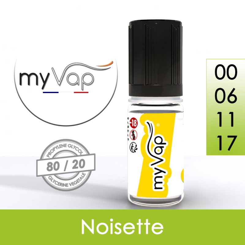 Eliquide Noisette - myVap