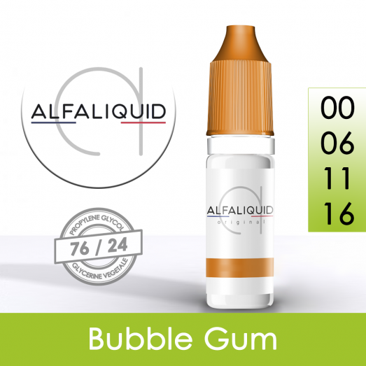 Eliquide Bubble Gum - Alfaliquid
