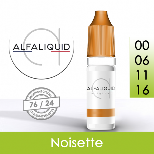 Eliquide Noisette - Alfaliquid